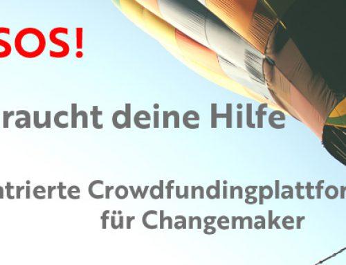 PATRON4change: Hilf uns zu helfen!